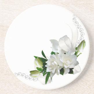 Wedding Gardenias Coasters