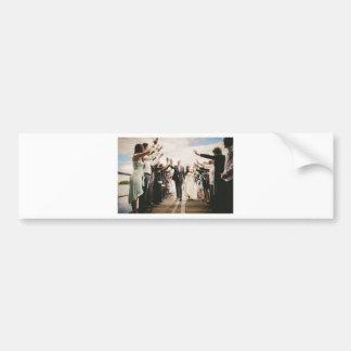 Wedding gift bumper sticker