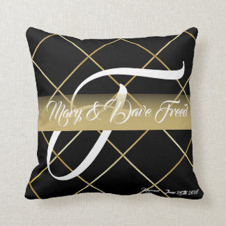 Wedding gift just married pillow cases