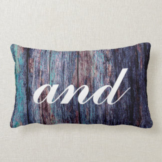 Wedding Gift Mr and Mrs Newlywed Lumbar Pillow