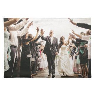 Wedding gift placemat