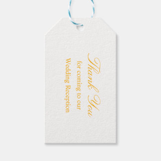 Wedding Gift Tag