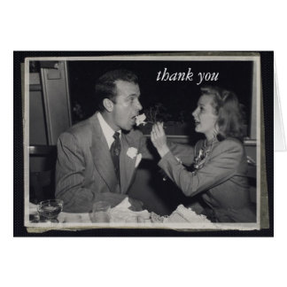 Wedding Gift Thank You Customizable Photo Card