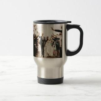 Wedding gift travel mug