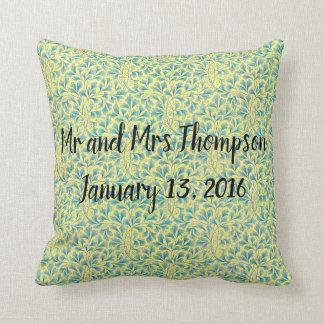Wedding Gift vintage pillow