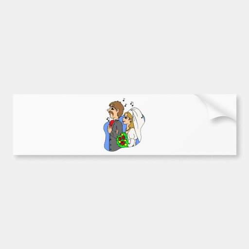 Wedding Gifts 17 Bumper Stickers