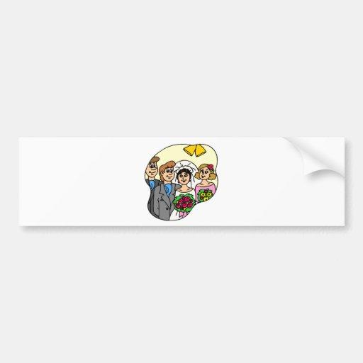 Wedding Gifts 46 Bumper Sticker