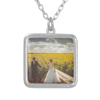 Wedding Gifts Silver Plated Necklace