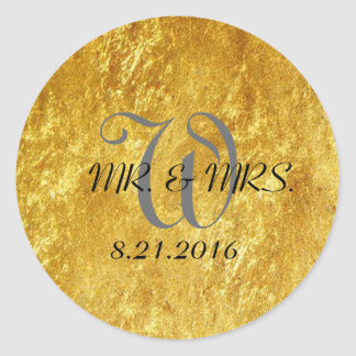 Wedding Gold Stickers