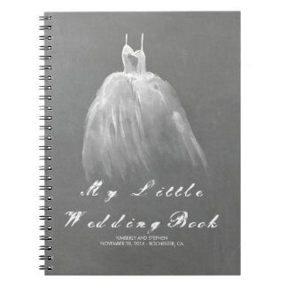 Wedding Gown Bride To Be Romantic Vintage Notebooks