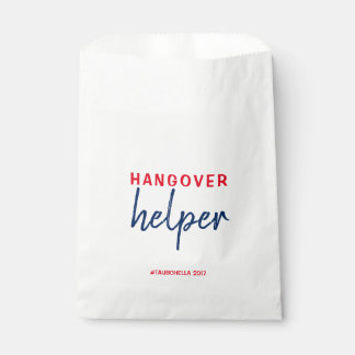 Wedding Hangover Helper Favor Bags