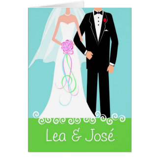 Wedding-HappyCouple-Lea-Jose-3a Card