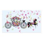 Wedding Horse & Carriage Flowers & Butterflies 2