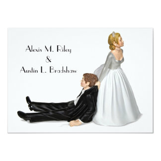 "Wedding Humor 4.5"" X 6.25"" Invitation Card"
