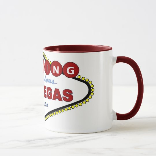 Wedding In Fabulous Las Vegas Mug