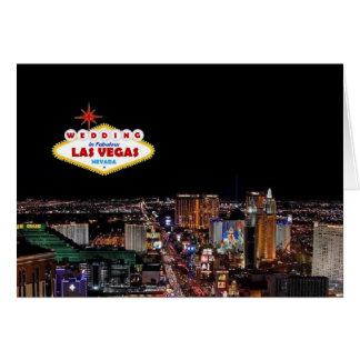WEDDING In Las Vegas NEW Vibrant LOGO Card