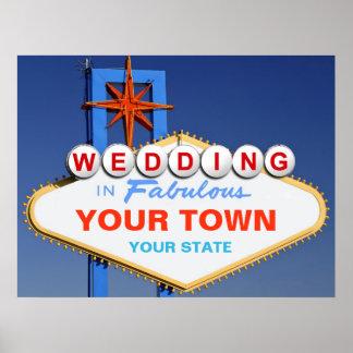 Wedding in Las Vegas Poster