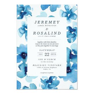 Wedding Invitation *Blue Garden*