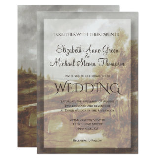 Wedding Invitation Country Brook