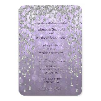 Wedding Invitation | Crystal Palace Lavender