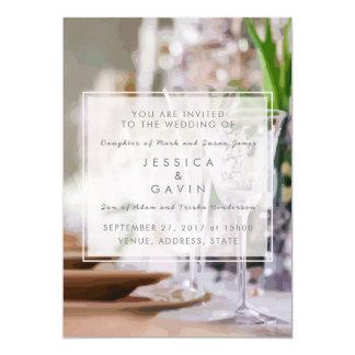 Wedding Invitation Fancy