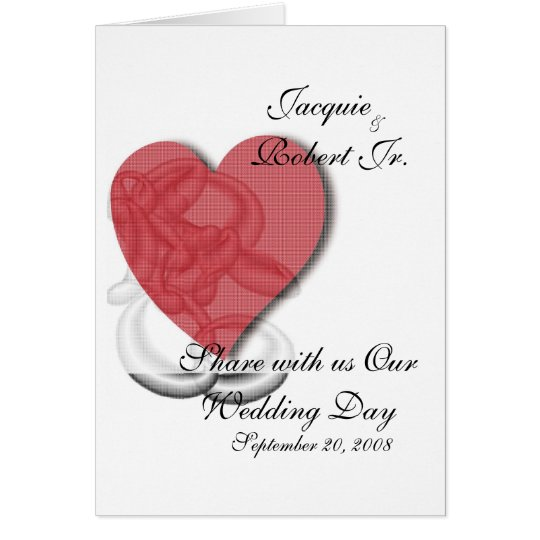 Wedding Invitation / Greeting Card