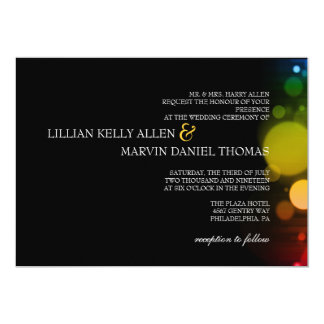 Wedding Invitation | Lit Night