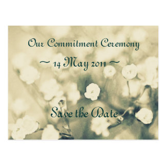 Wedding Invitation Save the Date template card