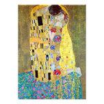 Wedding Invitation; The Kiss by Gustav Klimt