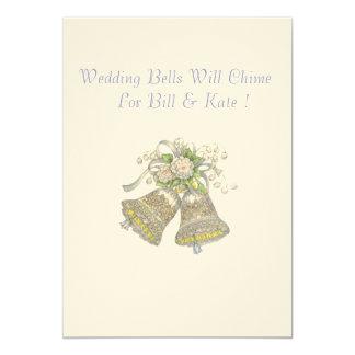 Wedding Invitation Wedding Bells Will Chime