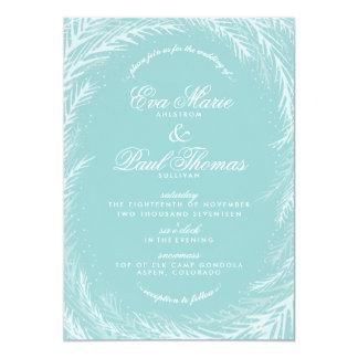 Wedding Invitation // Winter Wonderland
