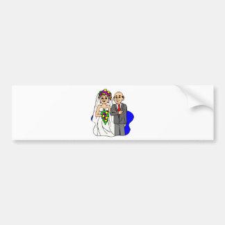 Wedding Invitations 34 Bumper Sticker
