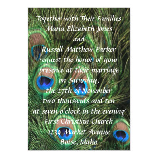 Wedding Invitations Peacocks