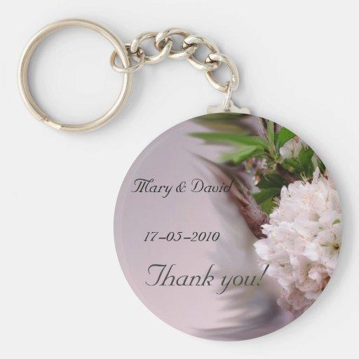 wedding Key chain - customized