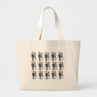 Wedding Large Tote Bag