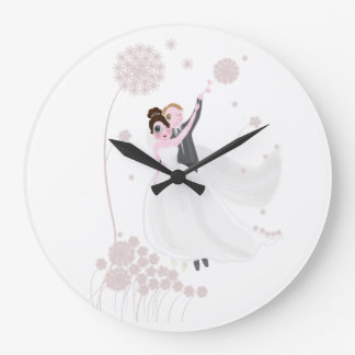 Wedding love clock