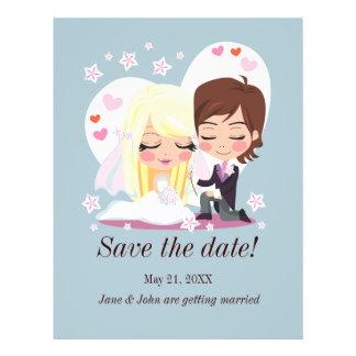 Wedding Love Flower Flyer Design