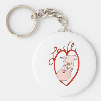 Wedding Love Keychain