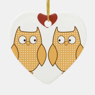wedding love soul mates ceramic ornament