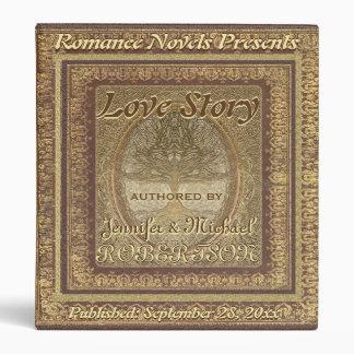 "Wedding ""Love Story"" Book Binder"