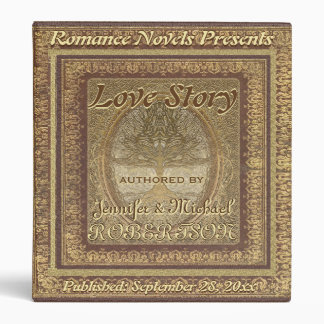 "Wedding ""Love Story"" Book Binders"