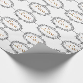 Wedding Lovers Venice Italy Elegant Wrapping Paper