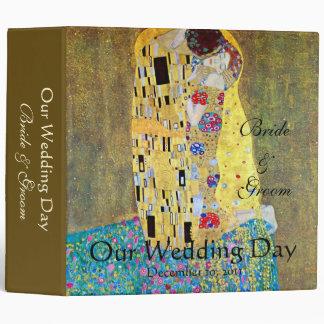 Wedding Memories; The Kiss by Gustav Klimt Binder