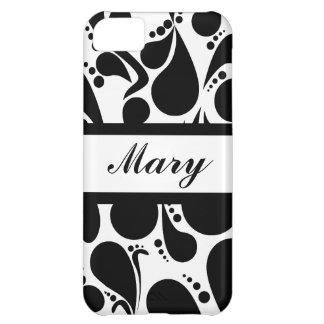 Wedding Monogram Style iPhone 5C Covers