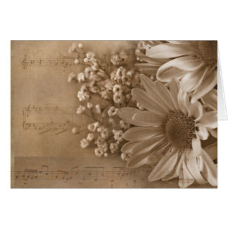 Wedding Music Card