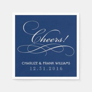 Wedding Napkins | Cheers Custom Design Disposable Napkins