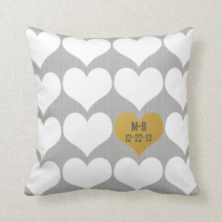 Wedding New Couple Anniversary Gift Pillow