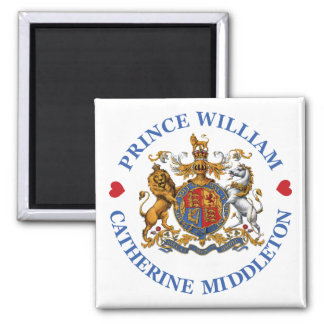 Wedding of Prince William and Catherine Middleton Magnet