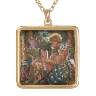 Wedding of St George, Princess Sabra by Rossetti Gold Plated Necklace