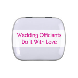 Wedding Officiant Candy Tin